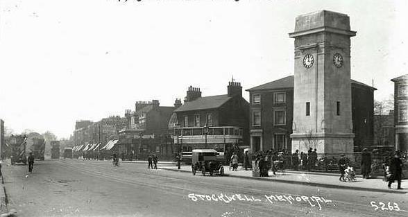Stockwell junction in c1921