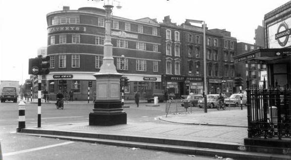 Stockwell junction in c1970